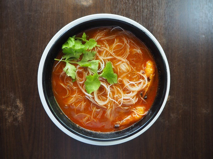 Tom Yam Bee Hoon (chicken/seafood)