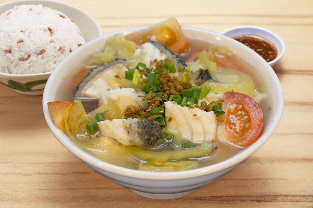 Sabah Giant Garoupa Soup Meal