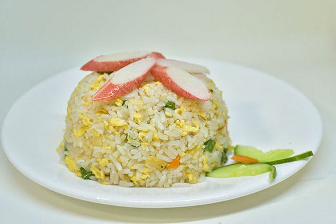 Crabstick Fried Rice
