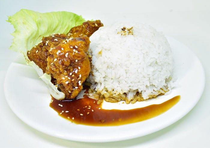 Marmite Chicken Rice