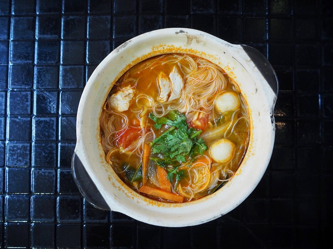 Tom Yam Soup + Drink