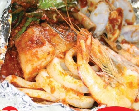 Seafood Combo with Vegetables