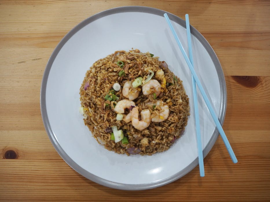 Tomyum Fried Rice (Shrimp)