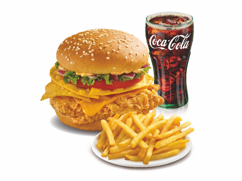 Mexicana Burger Combo Regular