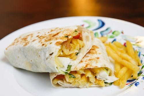 French Fries Wrap
