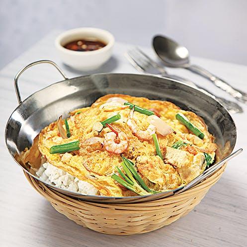 Egg Fu Yong Rice