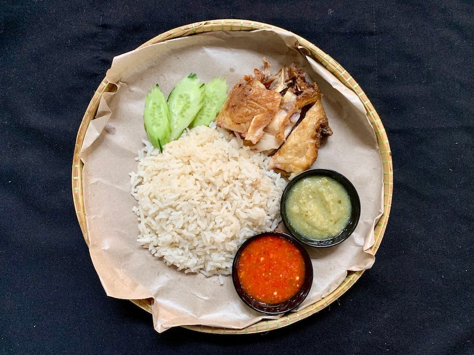 Roasted Chicken Rice (B)