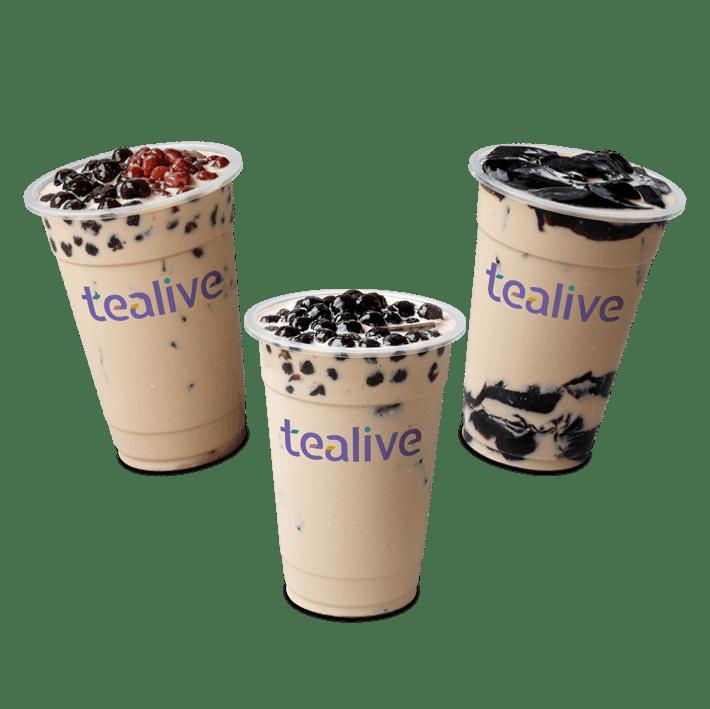 BUNDLE: 3 Tealive Milk Tea (R)