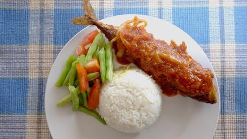 Nasi, Ikan Kembung Sambal
