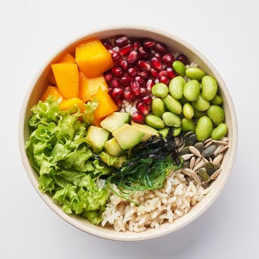 The Monk Poke Bowl (veg) (447 kcal)