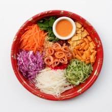 Salmon Sashimi Yee Sang