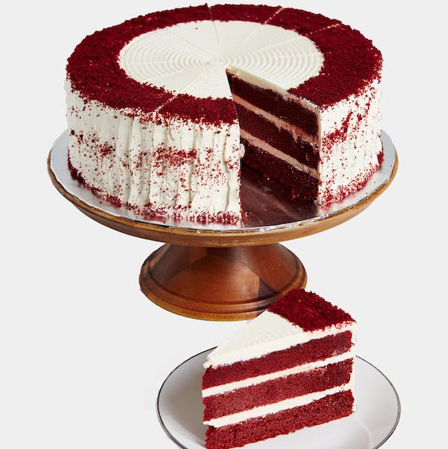 Red Velvet with Cheese 12 inch