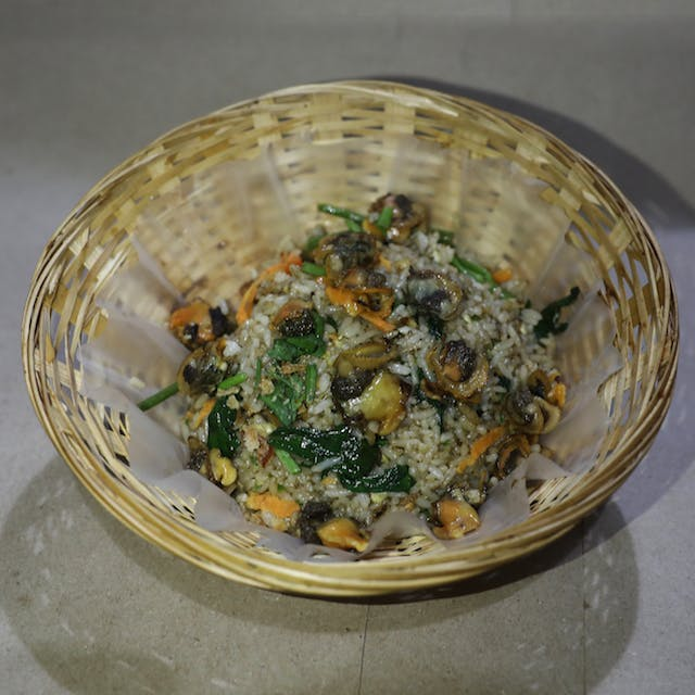 Nasi Goreng Kerang (seafood)
