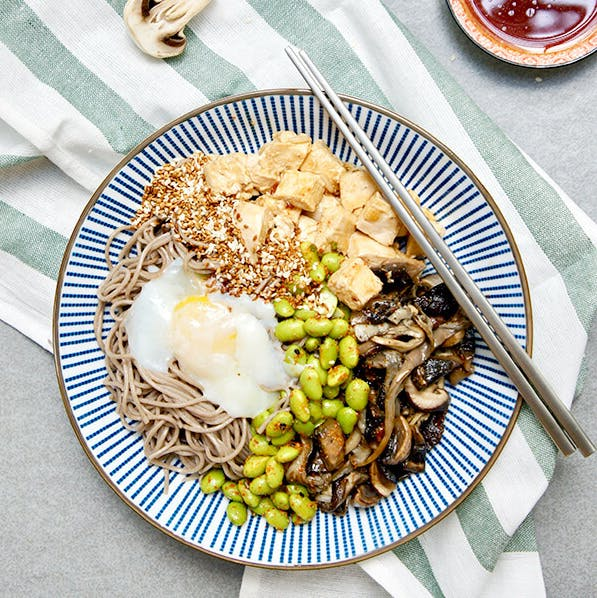 Honey Soy Chicken Soba