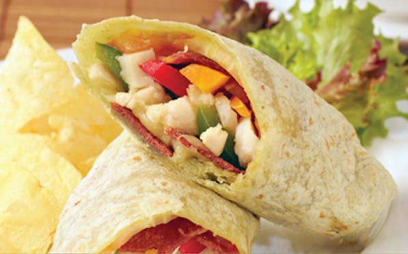 Chicken Crisp & Cheddar Wrap