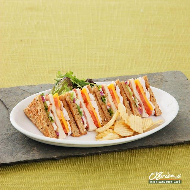 Chicken Tripledecker Toastie Sandwich