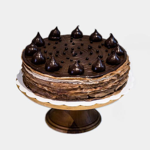 Chocolate Mille Crepe 9 inch