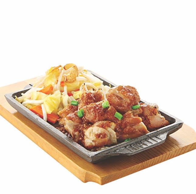 TEPPAN YAKI SET: Teppan Chicken