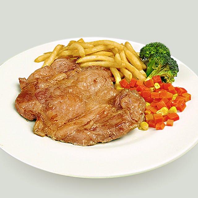 Chicken Chop & fries