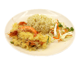Dry butter Prawns Fried Rice