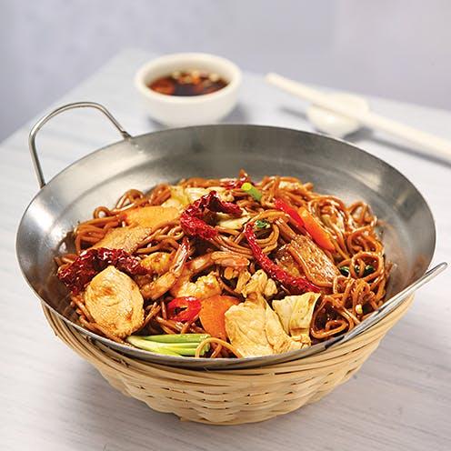 Dried Chilli Yee Mee