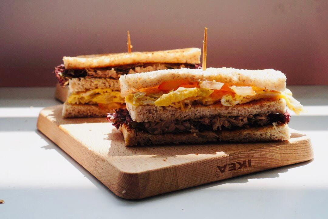 Fish Tuna Wholemeal Sandwich