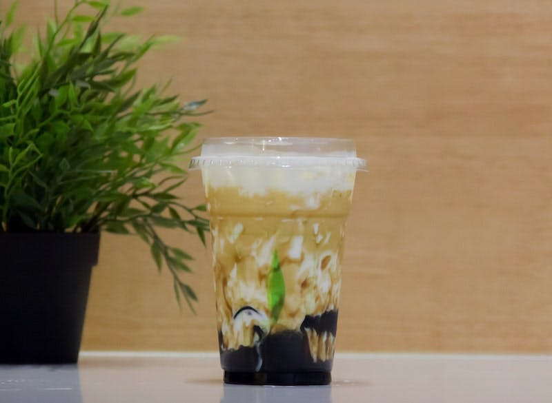 Herbs Jelly Latte