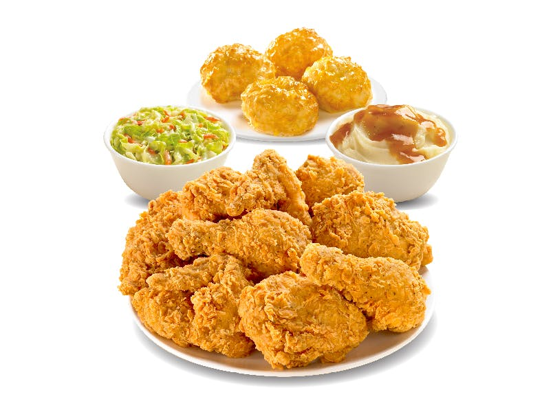 Large Chicken Combo Meal