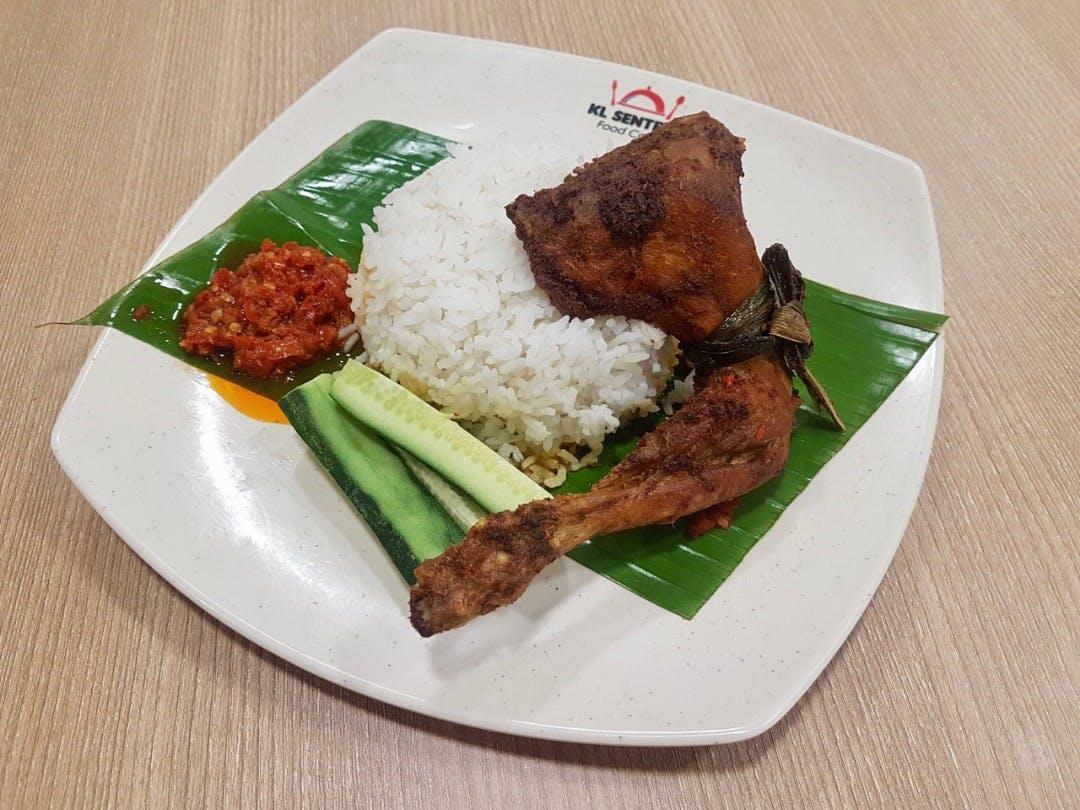 Nasi Putih Ayam Kampung