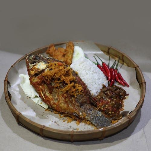 Talapia penyet (fish)