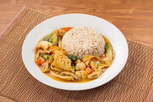Mixed Vege Beancurd Rice