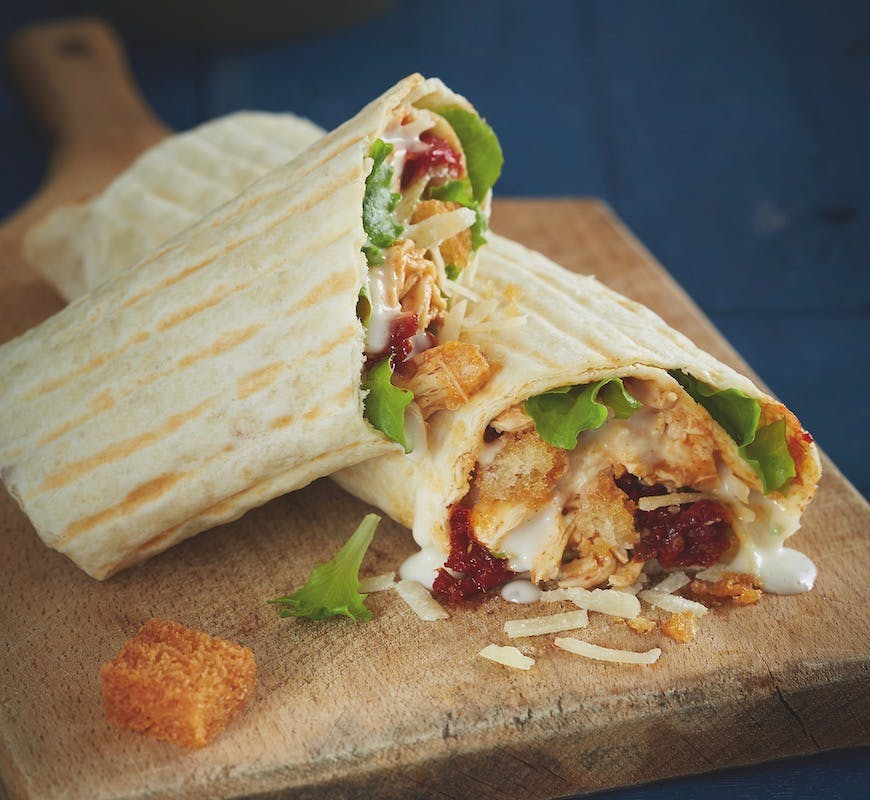Chicken Caesar wrap /1 Side