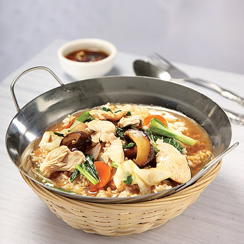 Mushroom Rice veg