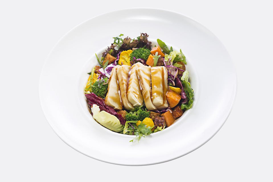 Tofu Garden Salad