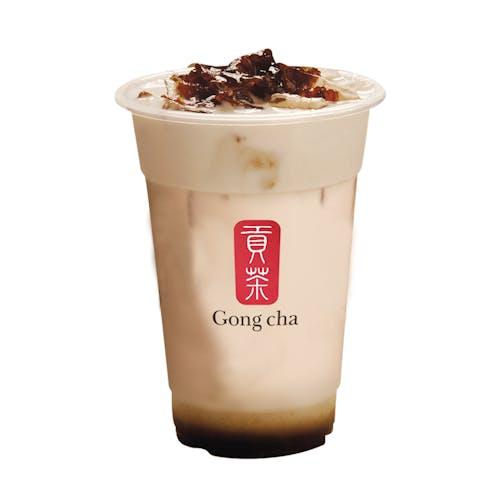 Longan Red Date Milk Tea