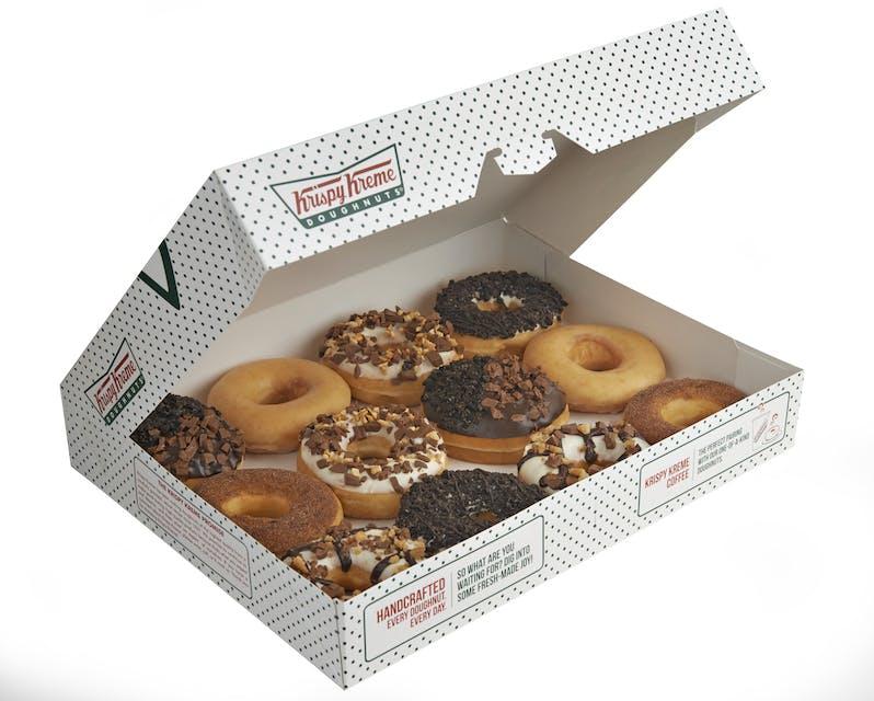 PICK your Krispy Kreme from 14.15
