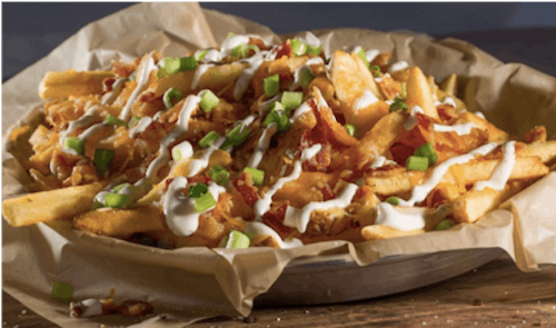 Beef Bacon Cheese Fries