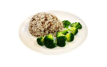 Beef Rice With Broccoli