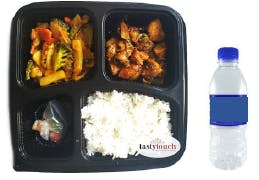 Bento Chicken Varuval Set