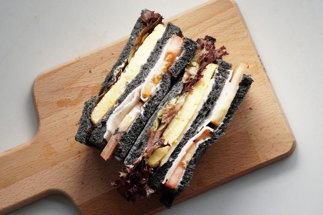 C.E.H Charcoal Sandwich