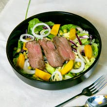 Roasted Lamb & Cheese Salad