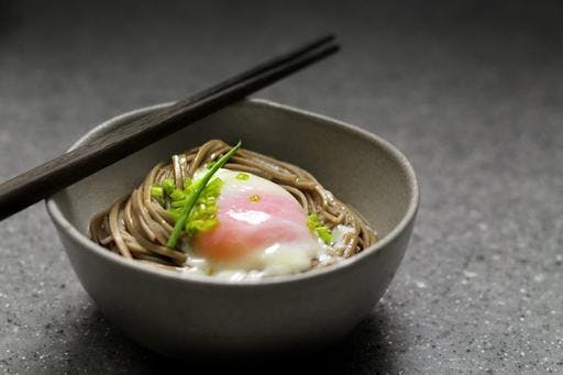 Japanese Soba with Onsen Egg