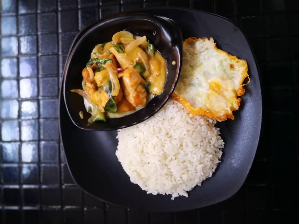 Butter & Herbs Chicken Rice