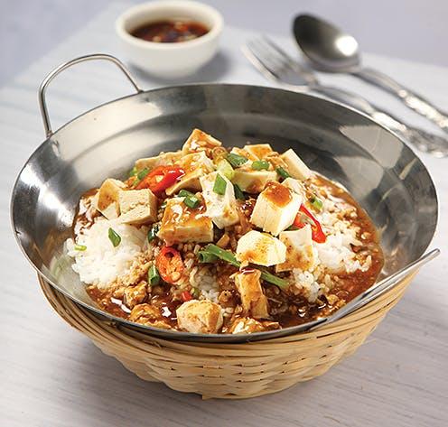 Ma Po Tau Fu Rice