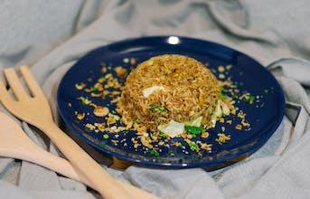 Nasi Goreng Tom Yam + Fried Egg
