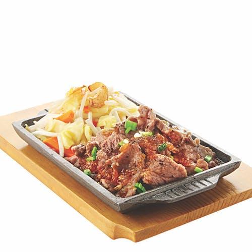 TEPPAN YAKI SET: Teppan Beef