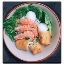 Seafood Lemak Laksa Noodle