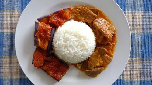 Nasi, Daging Kari