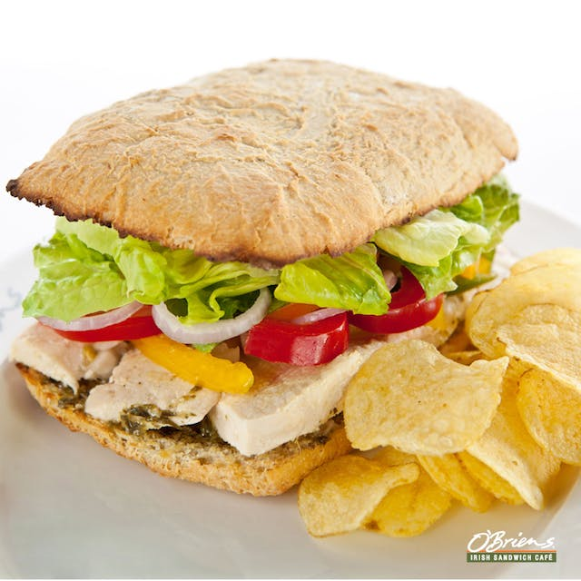 Sundried Tomato Ciabatta with Chicken