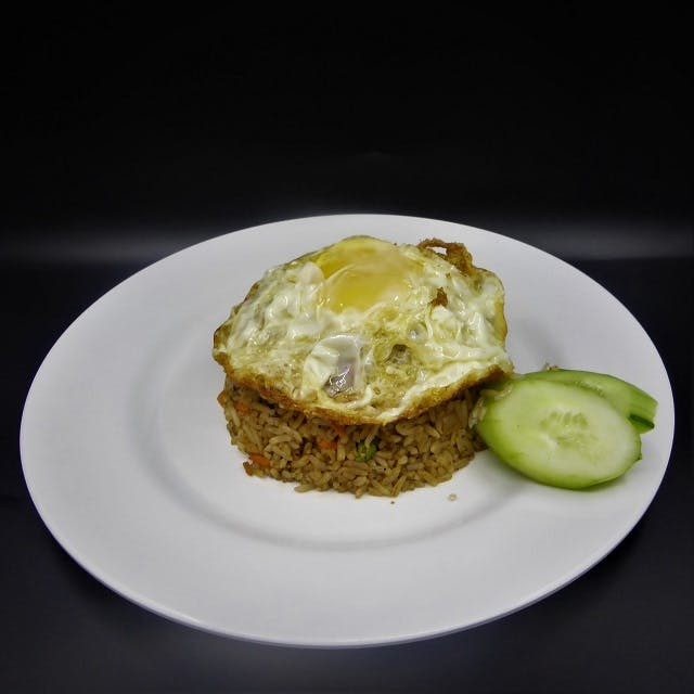 Nasi Goreng Tomyam (Seafood) + Egg